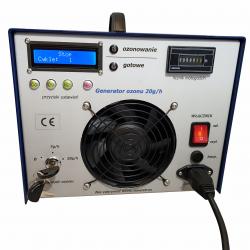 Generator ozonu 20g ozonator DS-20 koronawirus, grypa zestaw z maskaą pełną 6800