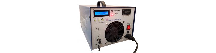 Generatory ozonu przedmuchowe zasilane powietrzem