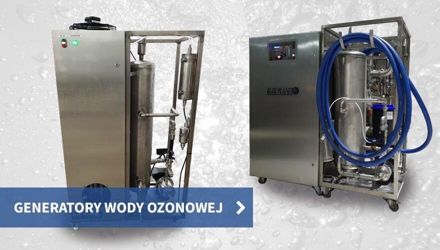 Generatory wody ozonowej